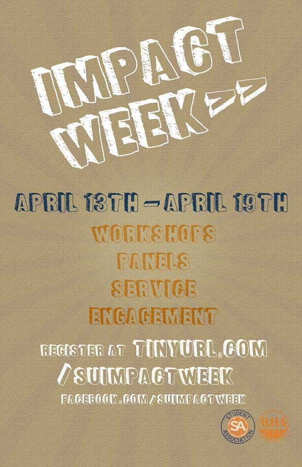 Impact week SU