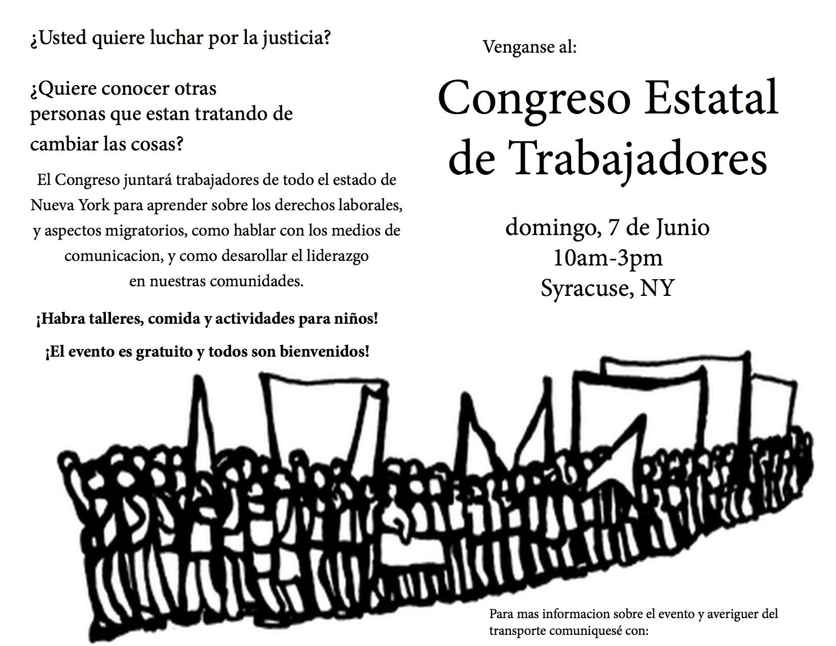 El Congreso flyer