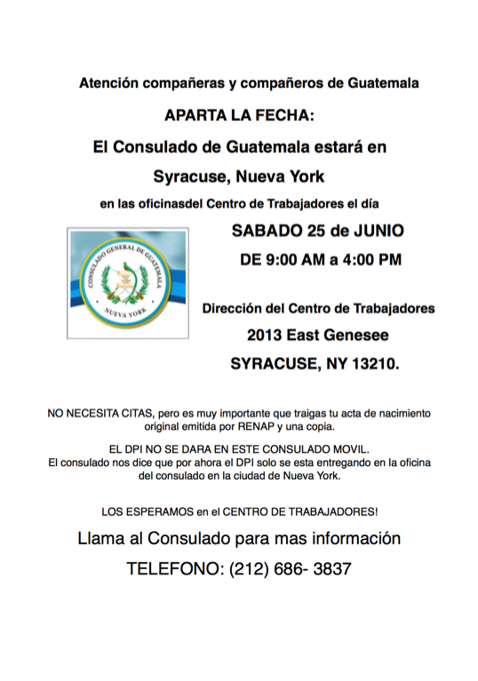 Guate consulate save the date